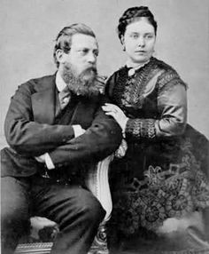 Emperor and Empress Friedrich III of Germany