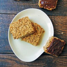 Unprocessed Kids Blog. Yummy Peanut Butter Granola Bar.  Use real maple syrup instead of agave.