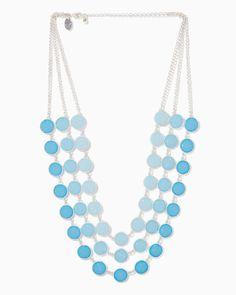 charming charlie | Suzetta Shimmer Necklace | UPC: 450900532123 #charmingcharlie