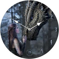 Once Upon A Time Clock - Anne Stokes
