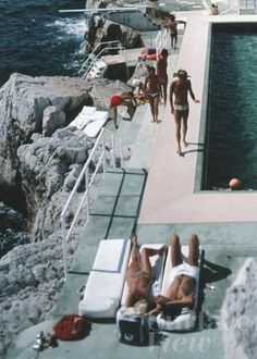Hotel du Cap. Photography by Slim Aarons.