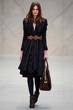 Burberry - cant say I love their whole Autumn 2012 collection, but love the bow belt
