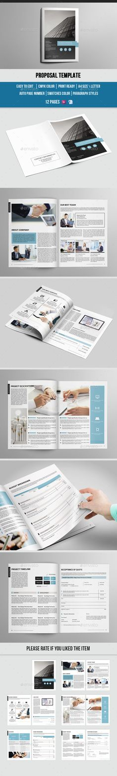 Modern University/College Prospectus Template on Behance