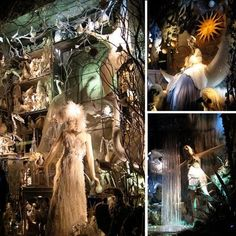 . A Few Pearls to Share...: {INSPIRATION} :: Bergdorf Goodman's Winter Wonderland Windows...