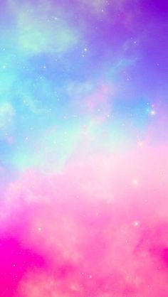 Pastel wallpaper, cool backgrounds, galaxy wallpaper, wallpaper for your ph Iphone Wallpaper Sky, Rainbow Wallpaper, Glitter Wallpaper, Kawaii Wallpaper, Cute Wallpaper Backgrounds, Tumblr Wallpaper, Cellphone Wallpaper, Colorful Wallpaper, Aesthetic Iphone Wallpaper