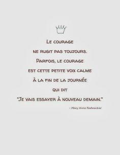 Citations option bonheur: Citation sur le courage