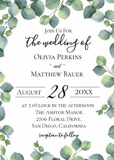 Shop Zazzle's Greenery wedding invitations & stationery today. Wedding Tags, Our Wedding, Summer Wedding Invitations, Writing Styles, Printable Quotes, Greenery, Stationery, Place Card Holders, Lettering