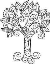Картинки по запросу дерево дудлинг