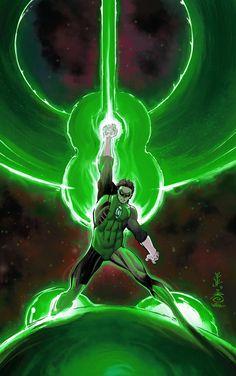 Green Lantern by John Romita Jr Green Lantern Movie, Green Lantern Comics, Green Lantern Hal Jordan, Green Lanterns, Arte Dc Comics, Dc Comics Superheroes, Dc Comics Characters, Comic Books Art, Comic Art