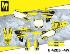 E 4205 - Yamaha YZf 450 2018 - Moto-StyleMX - Premium dirt bike decals, designed and manufactured in Europe. High quality custom designs for motocross, supermoto, enduro, ATV / quad bikes. Bike Stickers, Quad Bike, Yamaha Yzf, Motocross, Atv, Custom Design, Decals, Graphics, Motorbikes