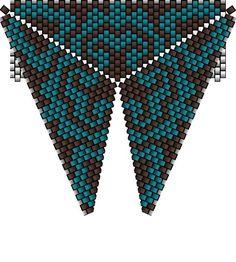 Треугольники   biser.info - всё о бисере и бисерном творчестве
