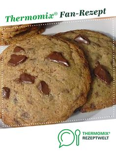 Cookies like Subway- Cookies wie bei Subway Cookies like Subway from A Thermomix ® recipe from the category baking sweet www.de, the Thermomix ® community. Baking Recipes For Kids, Dessert Recipes For Kids, Easy Desserts, Chocolate Chip Cookies Rezept, Chocolate Brownie Cookies, Brownie Recipes, Chocolate Recipes, Cookie Recipes, Healthy Chocolate
