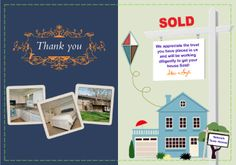 Real Estate, Realtor, New Home - This is a REAL Greeting Card (not an e-card) shared from Sendcere. Sending Greeting Cards just got easier. You can personalize them and add your own photos for less than a dollar per card. Include high quality gifts; gourmet foods, gift cards, books and more from our extensive online gift catalog. We get paid to Pin – you can, too!