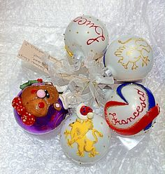 Balls polymer clay
