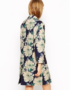 Enlarge ASOS Duster in Floral Print