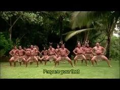Original maori haka dance...a fierce dance by the warriors and the culture continues to shine through