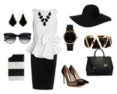 """Chic in Black"" by faith-jennings on Polyvore"