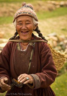 India | 'True Happiness Needs No Teeth'. Ladakh. Himalayas.  | © Vicky Wehei.