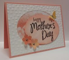 Operation Write Home - happy Mother's Day. All supplies from Stampin' Up!