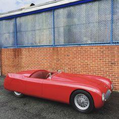 """Seen one before? 1948 Cisitalia 202 SMM Nuvolari Spyder. #Fantasyjunction #cisitalia202"""