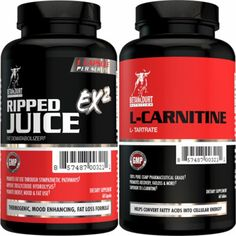 Weightloss Stack (Ripped Juice + L-Carnitine L-Tartrate (LCLT)) by Betancourt Nutrition
