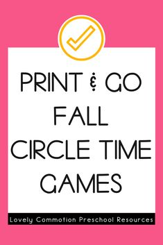 Do you need games for your whole group circle time? This HUGE pack includes 40 whole group games covering 20 different skills. Each games includes labels, instructions and the printables needed. Play Based Learning, Learning Centers, Learning Activities, Preschool Centers, Preschool Classroom, Circle Time Games, Letter Identification, Group Games, Letter Sounds