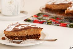 Carolines blog: Choco-fudge-notentaart