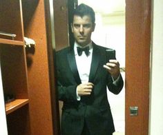 I feel like Jordan Knight in a tuxedo in someone's college dorm room is appropriate for my 15,000th pin!