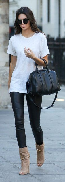 Kendall Jenner goes casual
