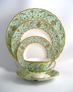 Royal Crown Derby Darley Abbey - My fine china pattern! Can't wait to use it after we get married :-)