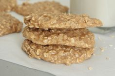 peanut butter oatmeal no bake cookies recipe
