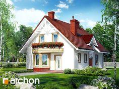 projekt Dom pod pistacją widok 1