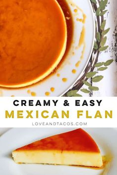 Flan Recipe – A Mexican Caramel Custard Dessert – Mexican food Mini Desserts, Custard Desserts, Flan Dessert, Sweet Desserts, Mexican Flan, Mexican Dessert Recipes, Filipino Desserts, Cuban Recipes, Dinner Recipes