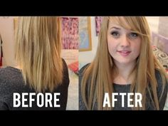 Here's what happened when I tried tape hair extensions for the first time. I have never used them before so might have made a few little mistakes but overall. Hair Extensions Before And After, Tape In Hair Extensions, Hair Weft, Hair Photo, Shiny Hair, Style Me, Health And Beauty, Hair Cuts