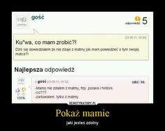 Funny Sms, Wtf Funny, Polish Memes, Everything And Nothing, Best Memes, Einstein, Haha, Comedy, Language