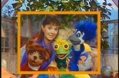 I watched this being taped and learned puppetmaking from the puppeteer! Under The Umbrella Tree