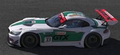Castrol GTX BMW Z4 GT3 by Allen Madding - Trading Paints