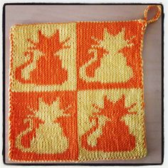 This pattern includes a chart and double knitting instructions.
