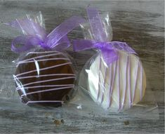50 edible wedding favors - Dipped Double Stuf Oreo Cookies