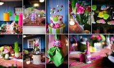 Cool ideas, different colors...alice in wonderland decor ideas