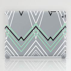 #mint #green #grey #chevron #stripes #projectm