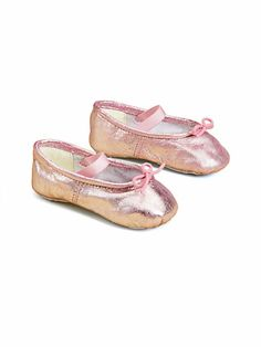 Metallic leather ballerina flats for baby girls Baby Boots, Baby Girl Shoes, My Baby Girl, Baby Love, Little Ballerina, Ballerina Flats, Ballet, Baby Muffins, Chic Baby
