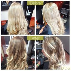 blonde to bronde before and after - Google Search