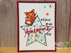 Craftin Desert Divas - June Release : Greeting Word and Fancy Frame Dies. Tiny Sentiments and Peek A Boo Animals stamps. Comet Sequins