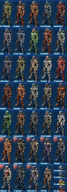 Halo 4 Spartan Armor.