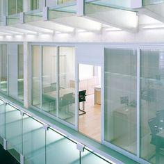 Versetzbare Glastrennwand Synops | RDL GmbH