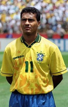 NEIL ASHTON: Brazil legend Romario claims Brazilian football is being ruined by 'talentless moguls' in an extraordinary outburst. Brazil Football Team, Brazil Team, Football Icon, World Football, Sport Football, Football Shoes, Fifa, Good Soccer Players, Football Players