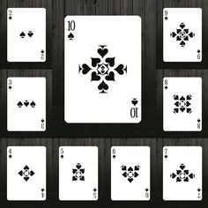 Bicycle Definite Playing Card Deck by Vinai Hopitakkul — Kickstarter