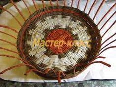 ▬► Плетение загибки. Часть I. / Basket weaving from newspapers - YouTube