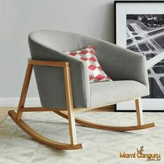 Cadeira de balanço ryder 45x45